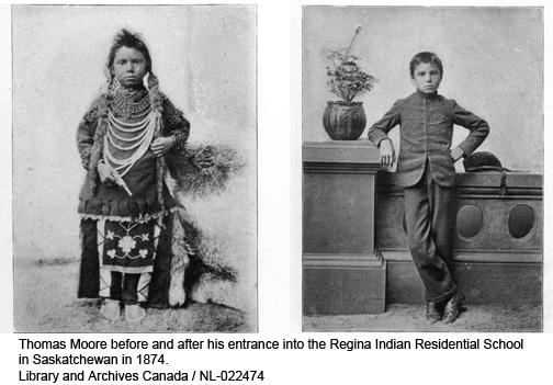 De la guérison des pensionnats indiens à la négociation du droit à l'autodétermination des Autochtones au Canada